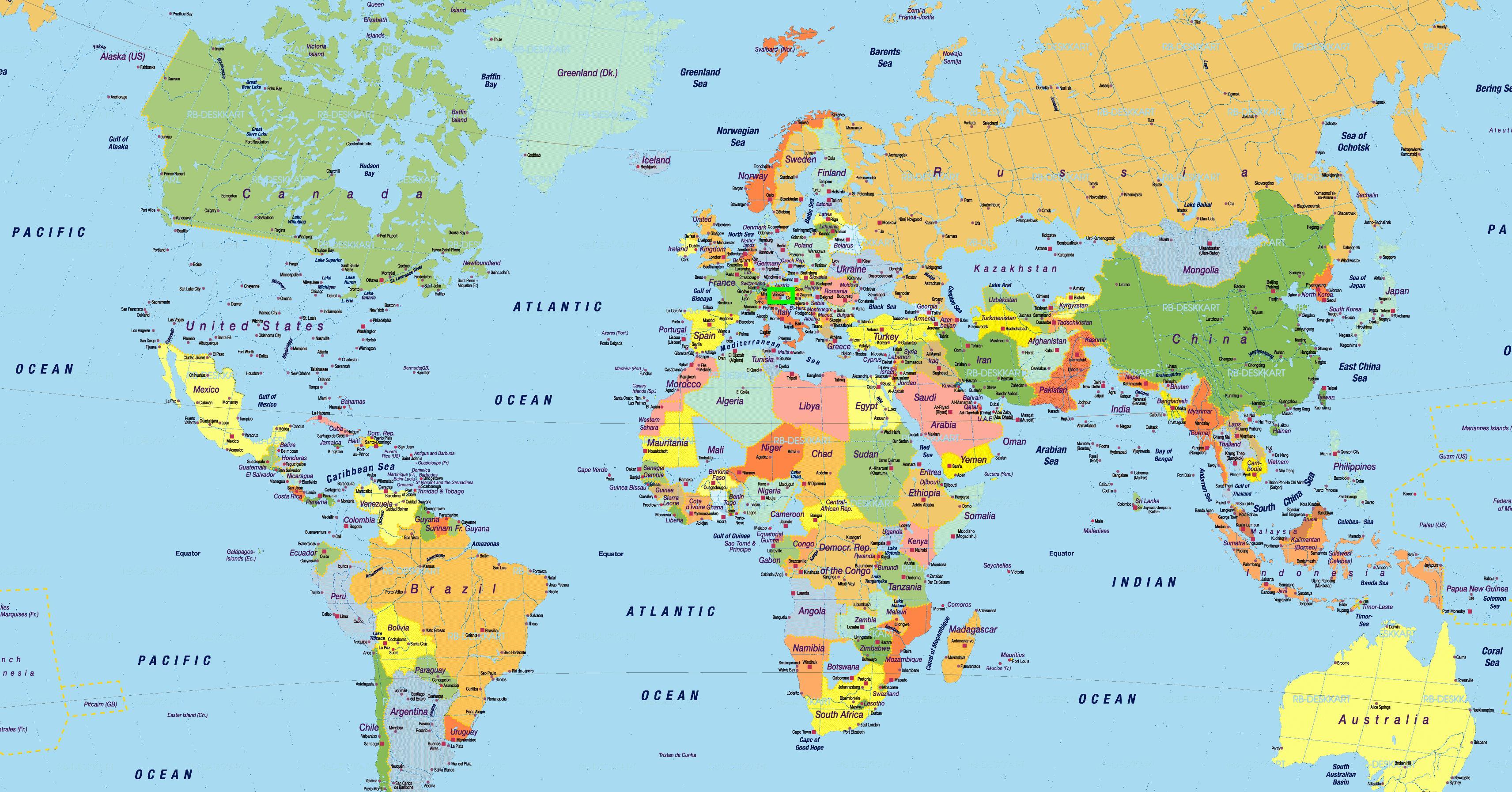 Venise carte de localisation - Venise italie carte du ...